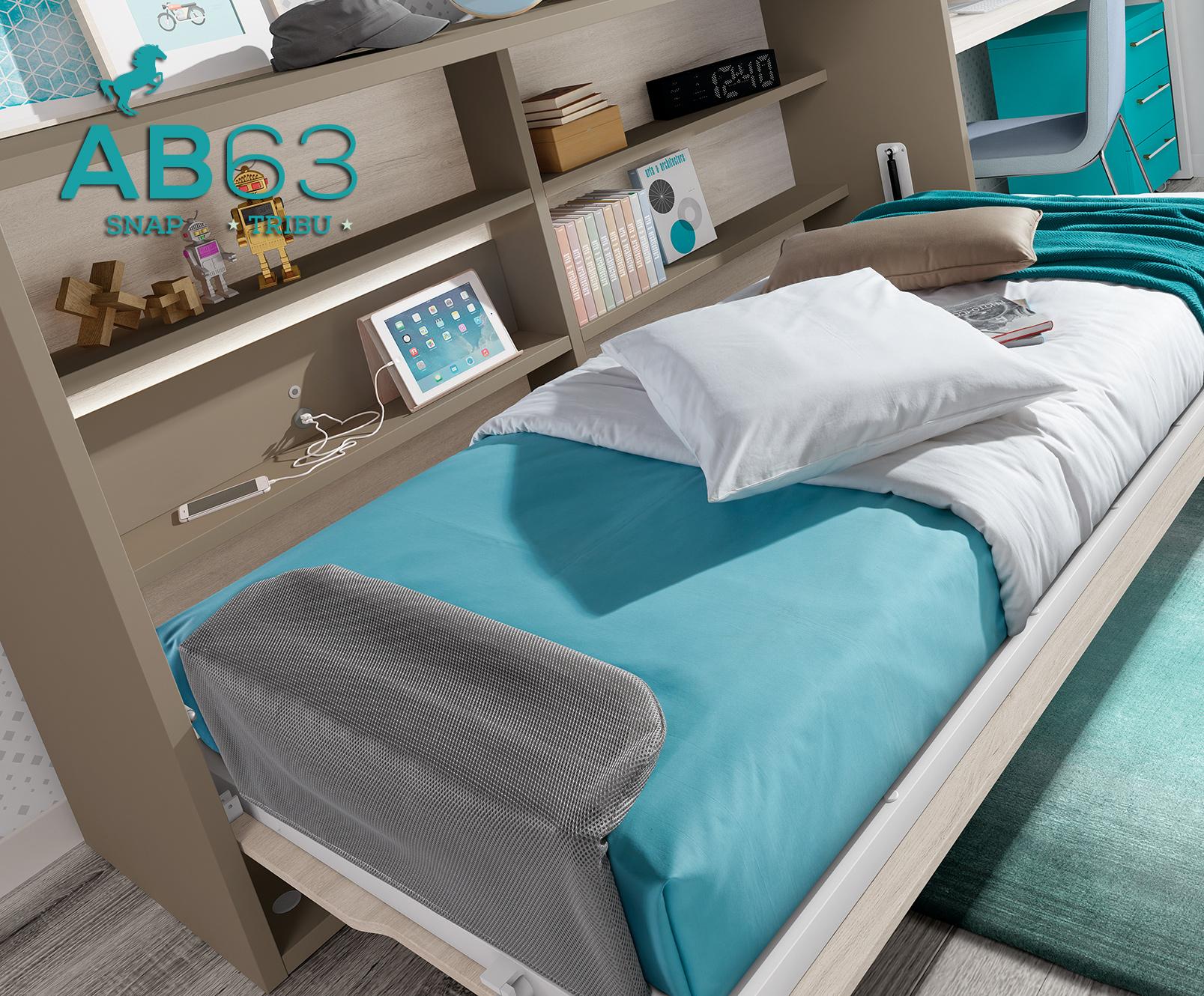 Llegó la revolución de las camas abatibles